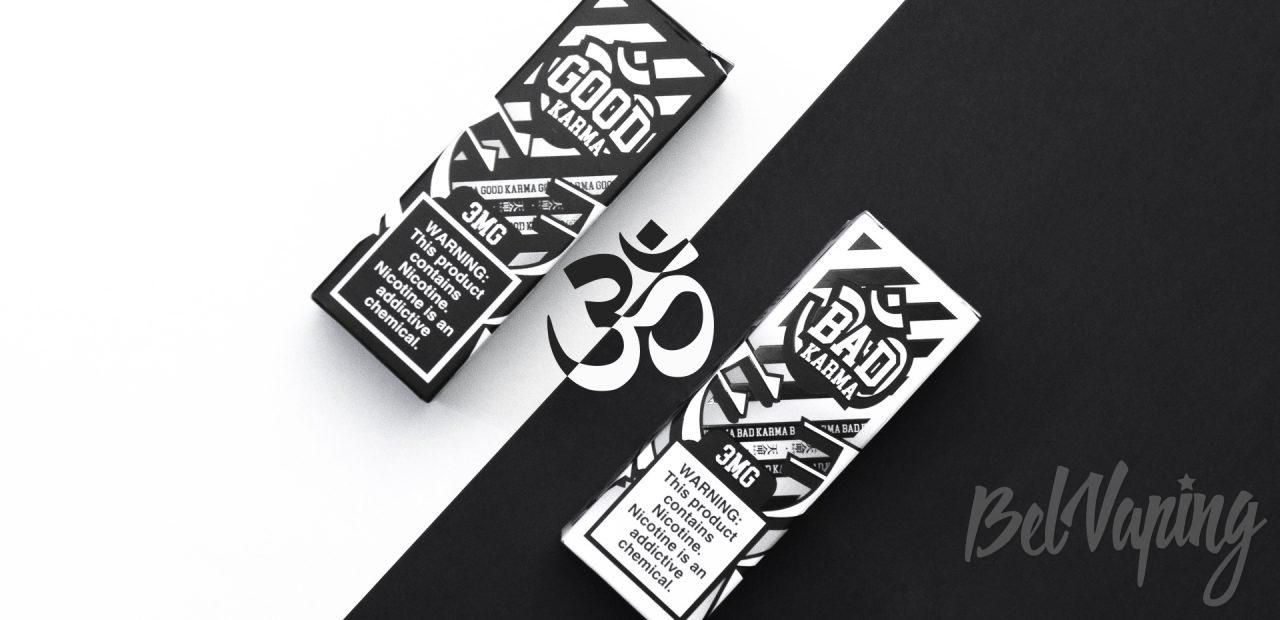 Обзор жидкости Bad Karma и Good Karma от Sugoi Vapor