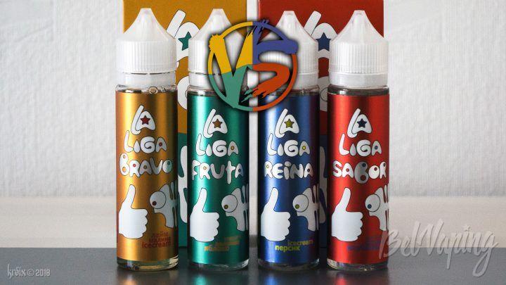 Обзор жидкости La Liga Vape