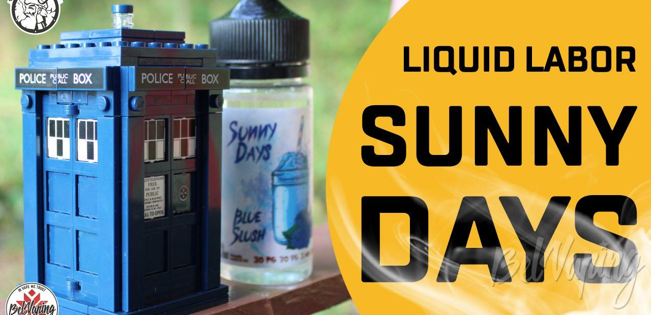 Видеообзор жидкости Sunny Days