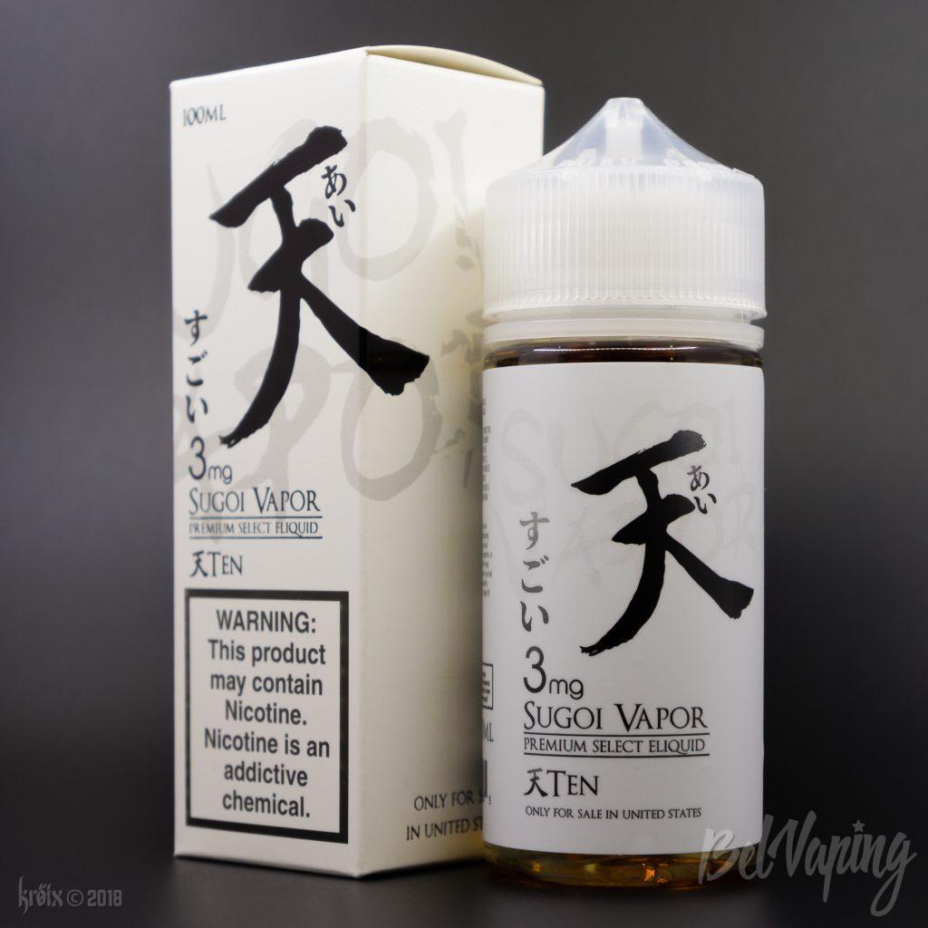 Жидкость Ten от Sugoi Vapor