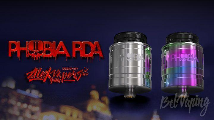 Vandy Vape Phobia V2 RDA. Первый взгляд