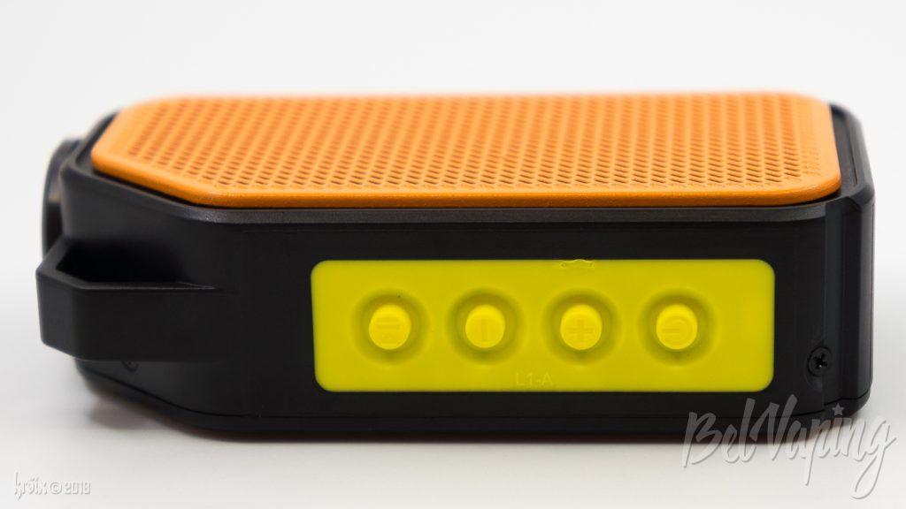 Кнопки управления колонкой Wismec Active