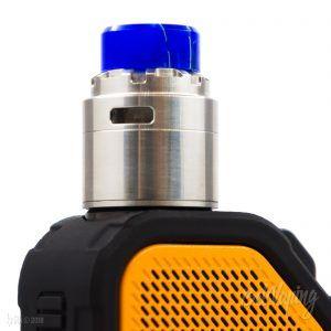 Reload X RDA (24 мм) на Wismec Active с бампером