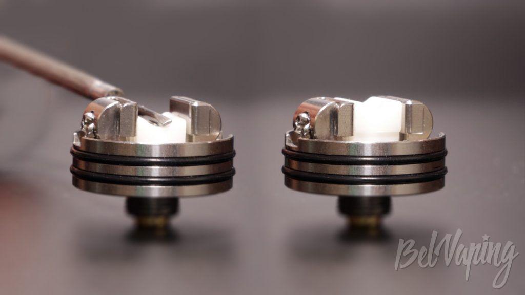 Wotofo PROFILE RDA - механизм прижима хлопка