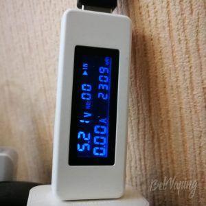 Зарядка Wismec Active - емкость встроенного аккумулятора