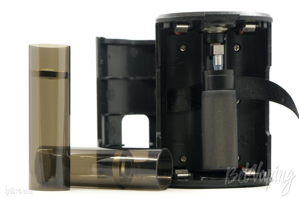 Переходники для 18650 боксмода Boxer 200W Squonk Box Mod SXK