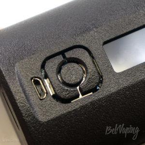 Кнопки управления Boxer 200W Squonk Box Mod SXK