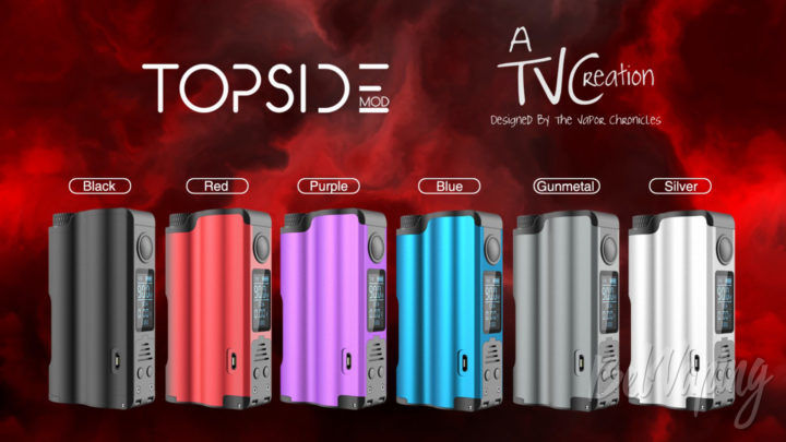 DOVPO Topside Squonk Mod. Первый взгляд