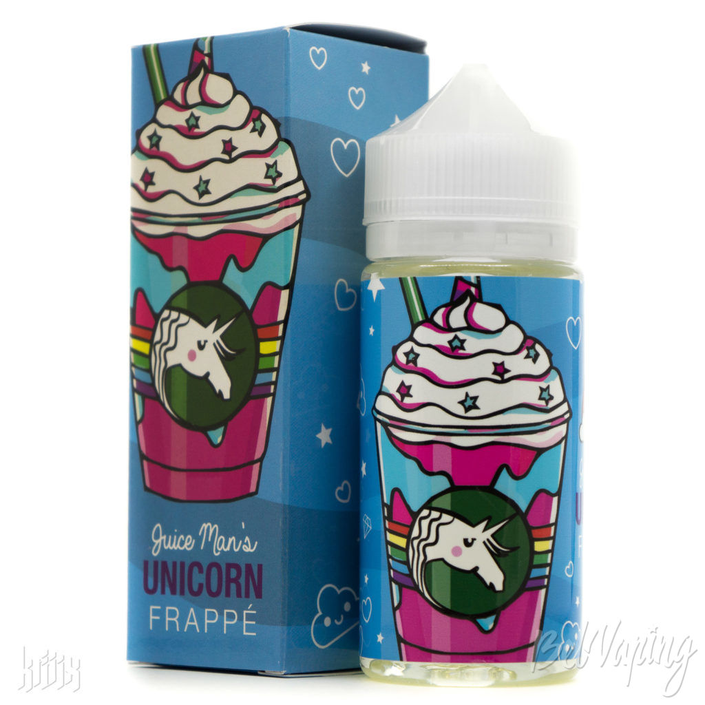Жидкость Juice Man's Unicorn Frappe от Juice Man