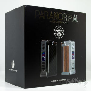 Упаковка Lost Vape Paranormal DNA250C