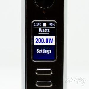Максимальная мощность Lost Vape Paranormal DNA250C