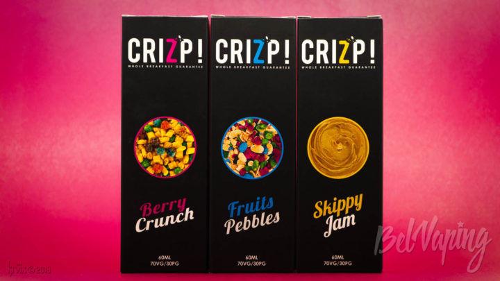 Обзор жидкости CRIZP! от CRIZPBREW