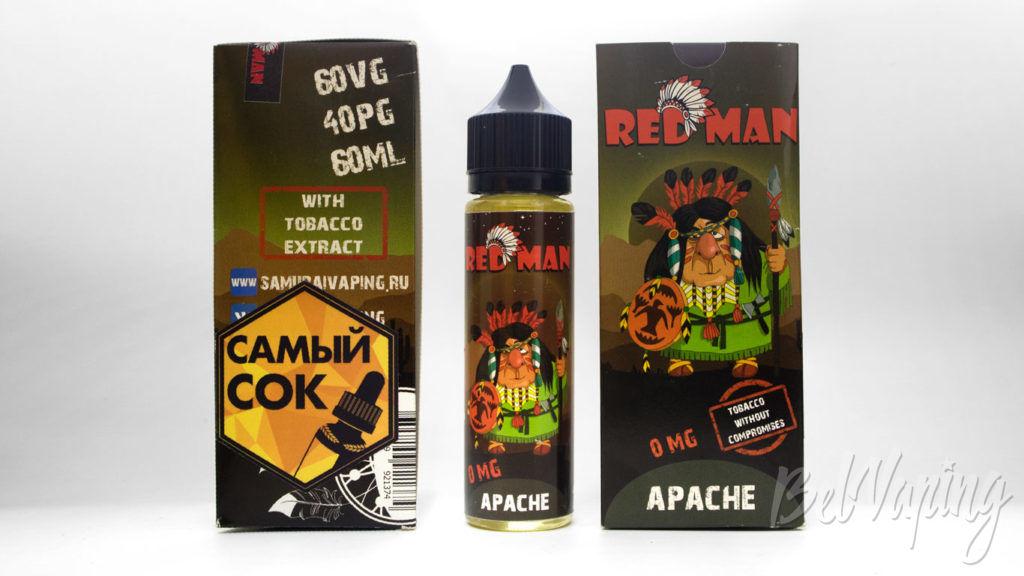 Набор жидкостей от Pick and Vape - Жидкость Red Man Apache