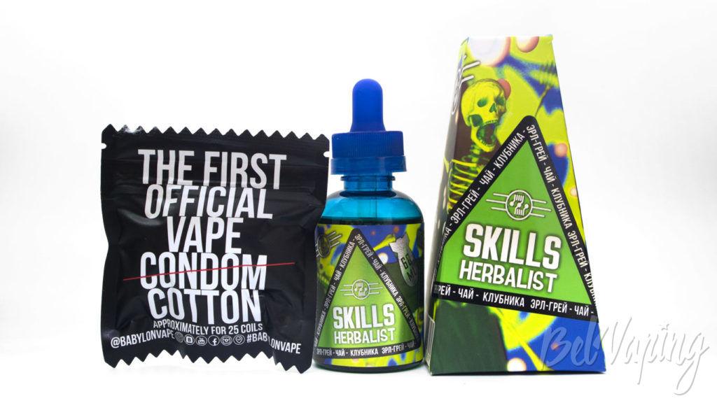 Набор жидкостей от Pick and Vape - Жидкость Skills herbalist