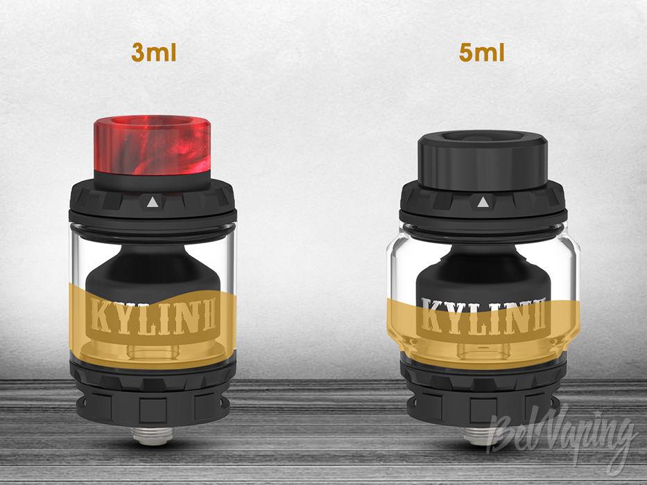 Вместительность Vandy Vape Kylin V2 RTA