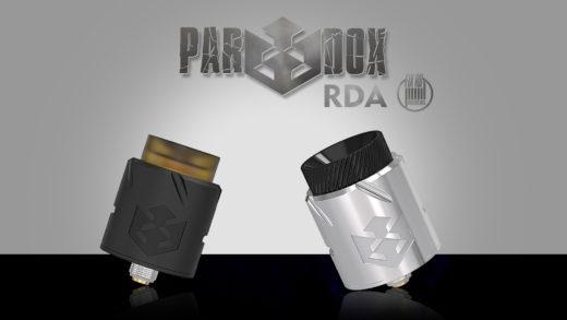 Vandy Vape Paradox RDA. Первый взгляд