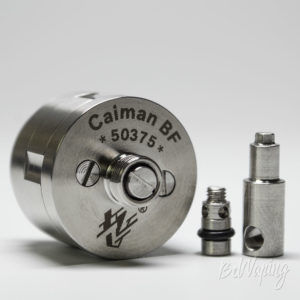 Замена пина Vape Systems Caiman BF RDA