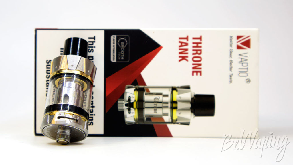 Обзор Vaptio THRONE TANK