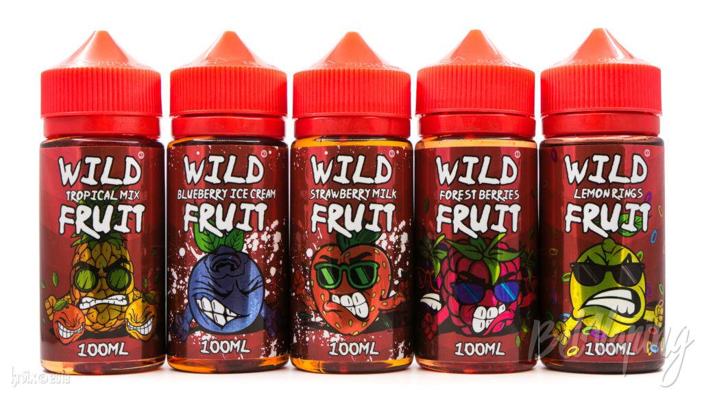 Линейка жидкости Wild Fruit