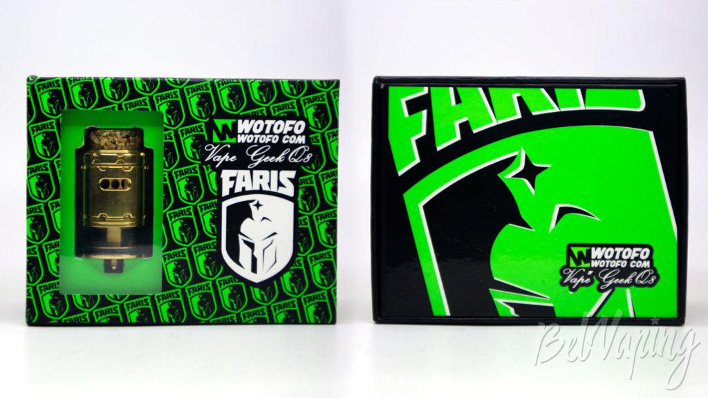 Wotofo FARIS RDTA - упаковка