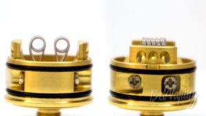 Wotofo FARIS RDTA - установка спиралей
