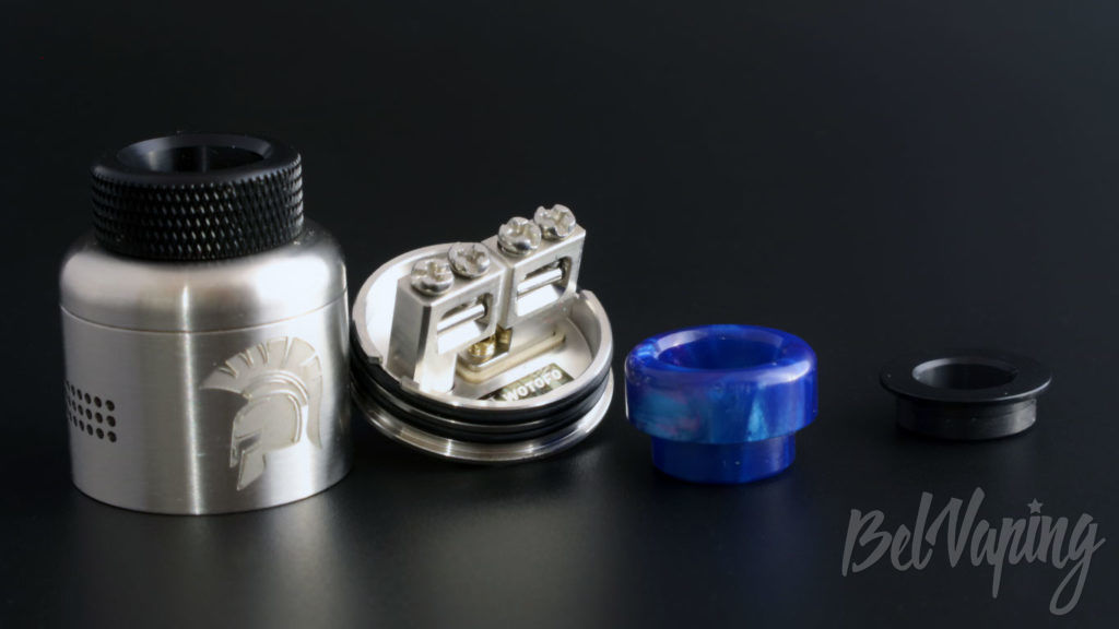 Wotofo WARRIOR RDA - комплект поставки
