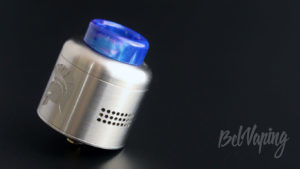 Wotofo WARRIOR RDA - вид с синим дриптипом