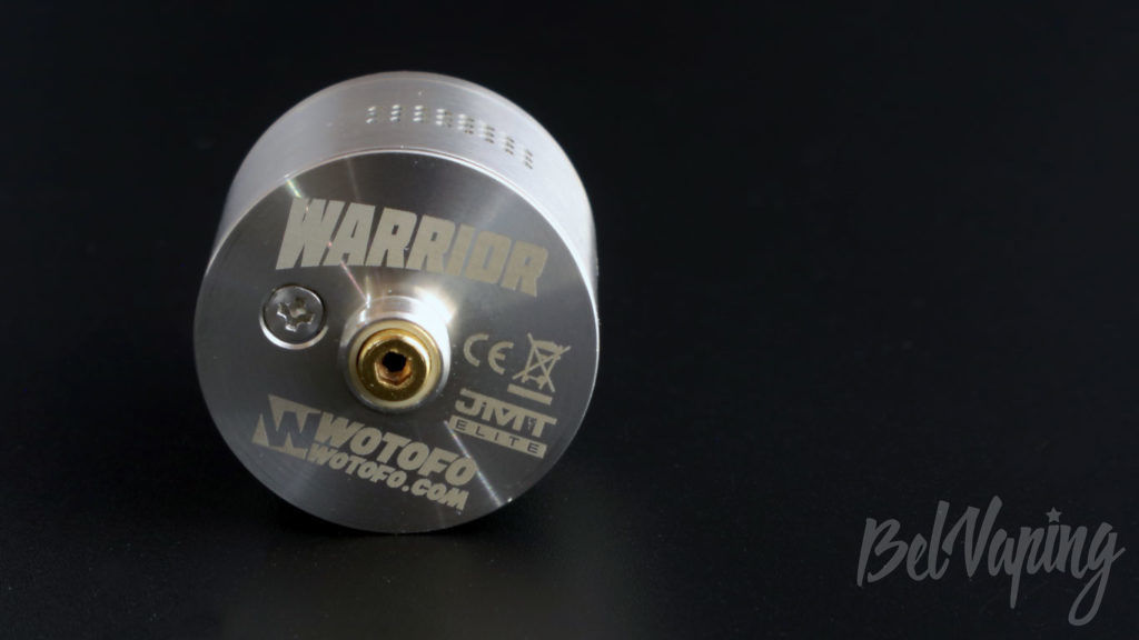Wotofo WARRIOR RDA - вид на коннектор