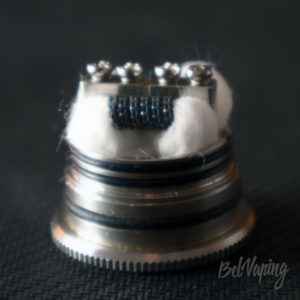 Wotofo WARRIOR RDA - укладка хлопка