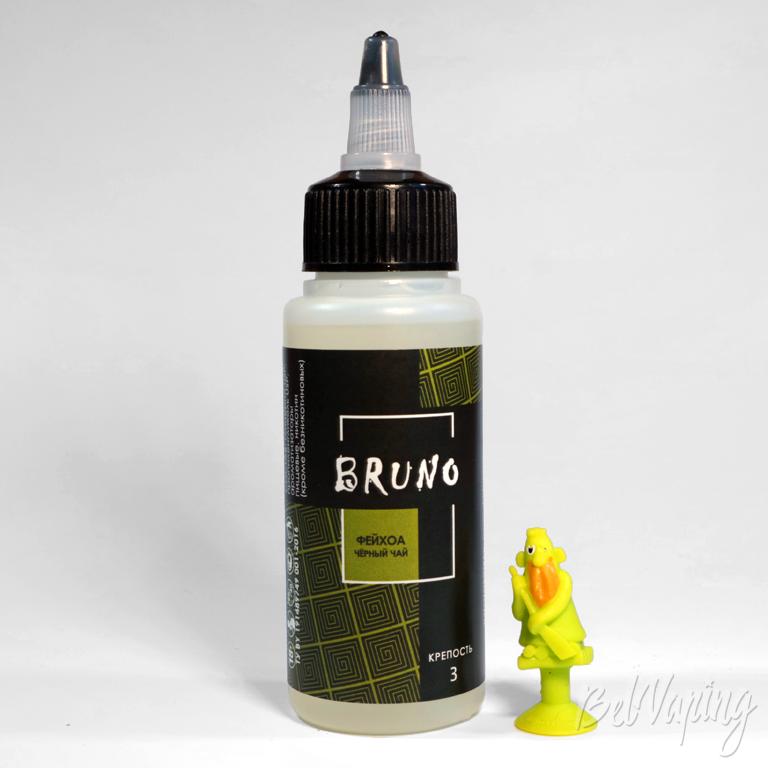 Жидкости BRUNO - вкус ФЕЙХОА чёрный чай