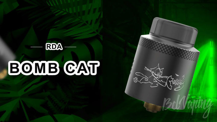 Acevape Tech Bomb Cat RDA. Первый взгляд