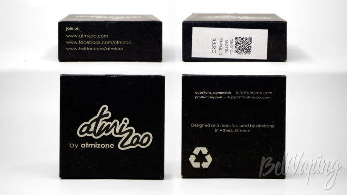 Atmizoo CREEK RDA by Atmizone - упаковка дополнительных частей