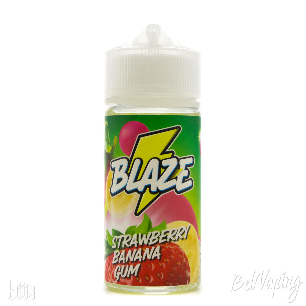 Жидкость BLAZE - Strawberry Banana Gum