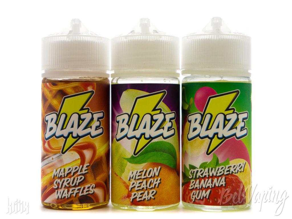 Новые вкусы жидкости BLAZE