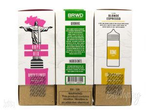 Упаковка жидкости BRWD E-LIQUID