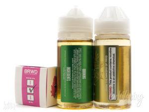 Тара и этикетка жидкости BRWD E-LIQUID