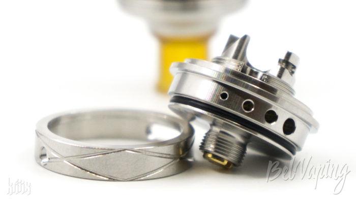 Кольцо регулировки обдува в Centaur Mini RTA