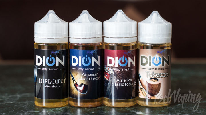 Обзор табачной жидкости DION