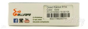 Упаковка Dead Rabbit RTA