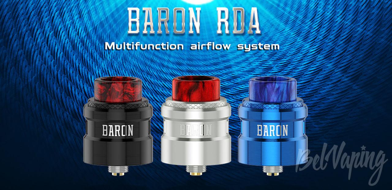 GeekVape Baron RDA. Первый взгляд