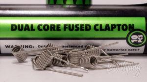 Готовые намотки Wotofo Dual Core Fused Clapton