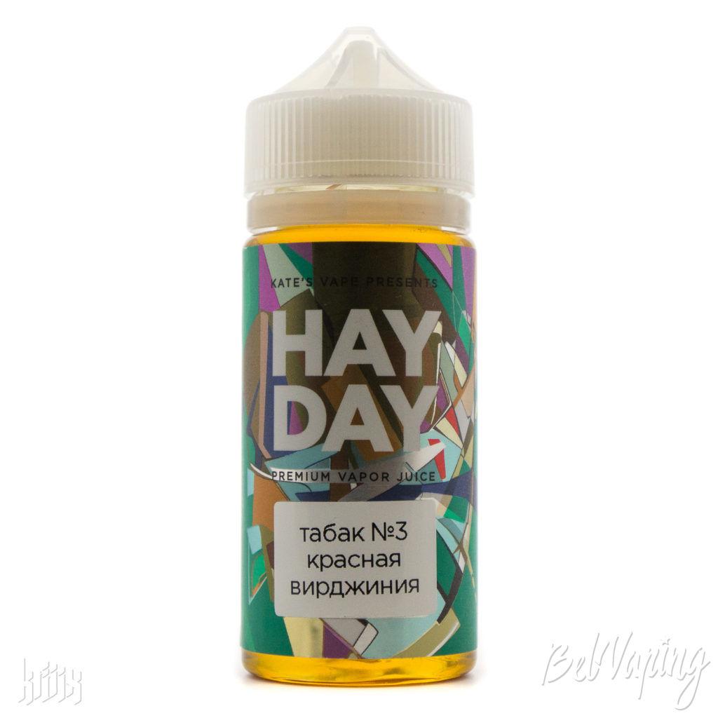 Жидкость HAY DAY Табак №3 Красная Вирджиния