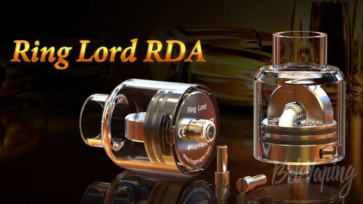 Hugsvape Ring Lord RDA. Первый взгляд