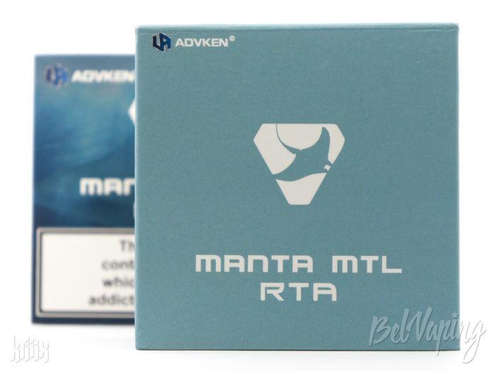 Упаковка Manta MTL RTA