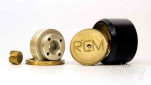 Механический мод RCM SHUTTLE - кнопка в разборе