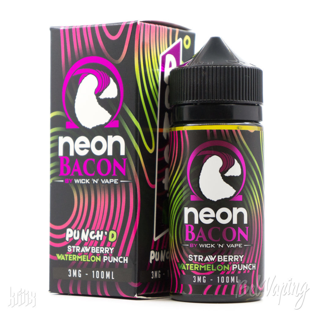 Жидкость Neon Bacon Punch'D