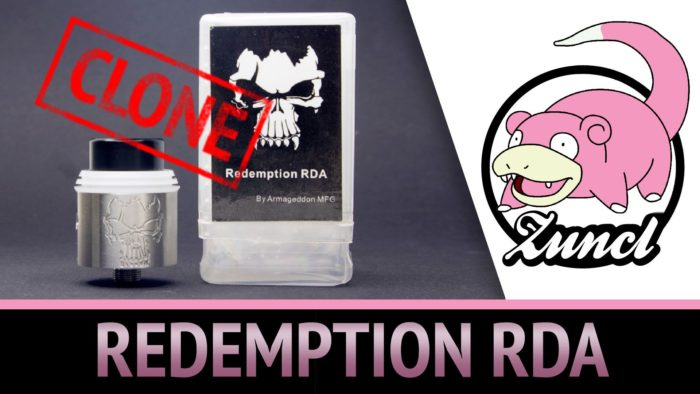 Обзор REDEMPTION RDA (clone)