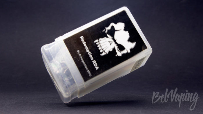 REDEMPTION RDA (clone) - упаковка