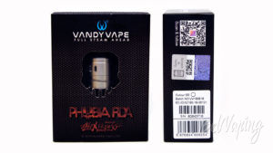 Vandy Vape PHOBIA 2 RDA - упаковка