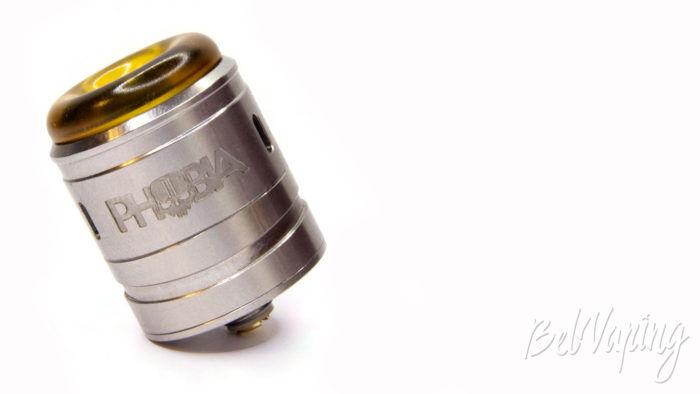 Vandy Vape PHOBIA 2 RDA - внешний вид с low дриптипом